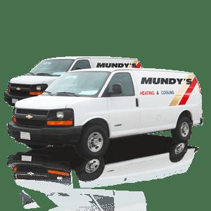 Mundy's service vans