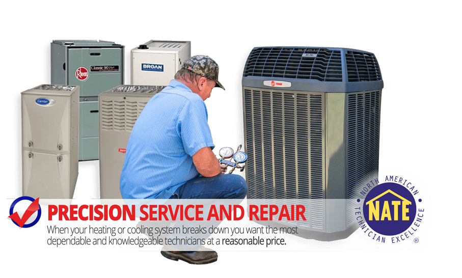 Precision Service and repair. Knowledgeable technicians at a reasonable price.